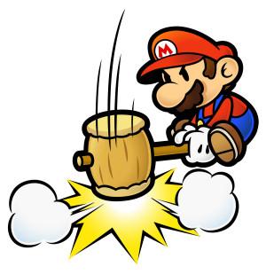 Mario and his hammer