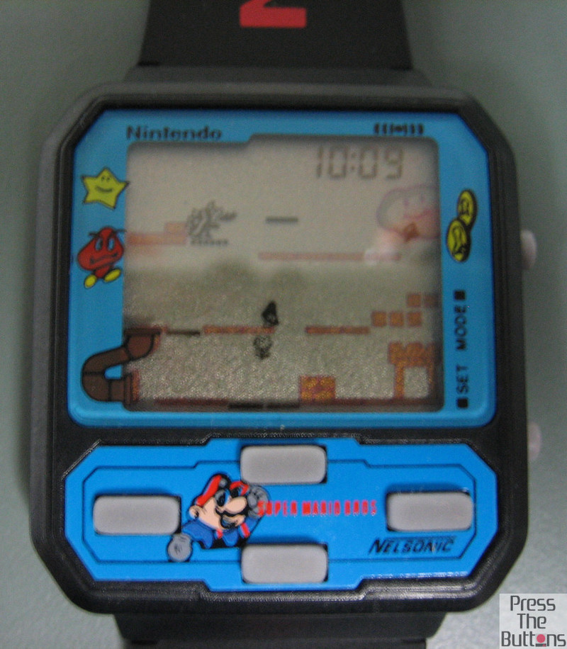Nelsonic Mario watch