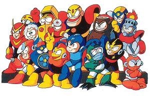 Mega Man cast photo
