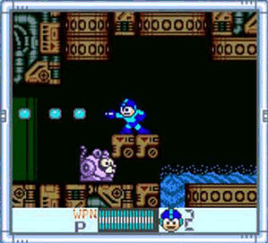 Mega Man IV, in color