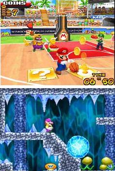 Mario Basketball and a new Wario adventure