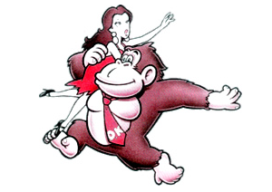 Pauline and Donkey Kong