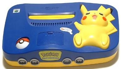Pikachu Nintendo 64