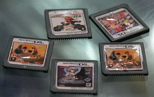 Pirated Nintendo DS games