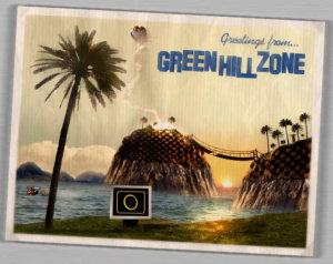 Greetings from Green Hill Zone