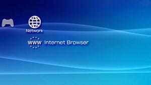 PSP web browser