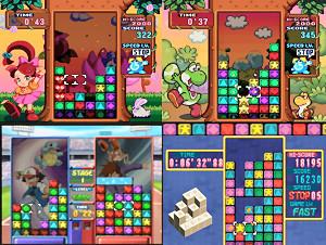 Puzzle League's many faces
