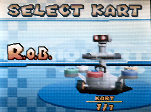 rob the robot mario kart ds