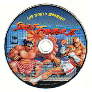 Street Fighter 2 rap album