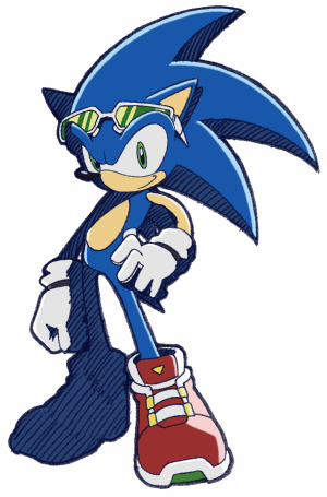 Sonic with attitude
