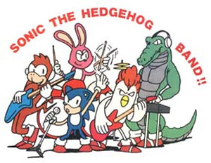 Sonic the Hedgehog Band!!