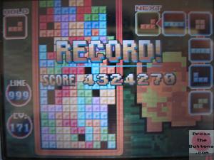 MattG's Tetris high score