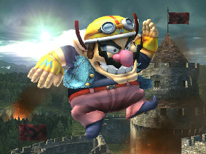 Wario in Super Smash Bros. Brawl