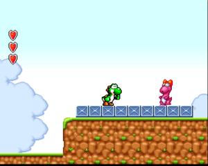 Yoshi in Super Mario Bros. 2